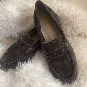 Hush puppies women's suede loafers